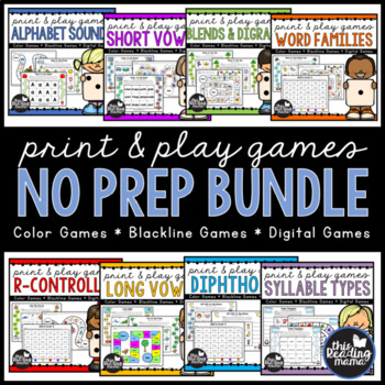 It's just a picture of Crush Printable Phonic Games