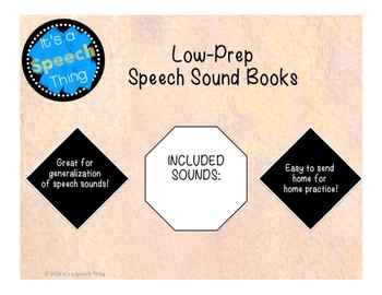 Low Prep S-Blend Sound Book