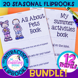 Low Prep Seasonal Flipbooks