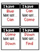 Low Prep Sight Word Pack
