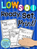 Low Sol {Ready Set Print!}