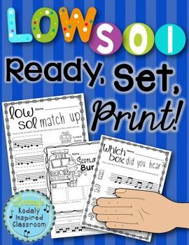 Low Sol {Ready Set Print!}