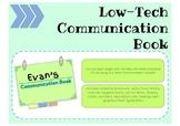 Low-Tech Communication Book
