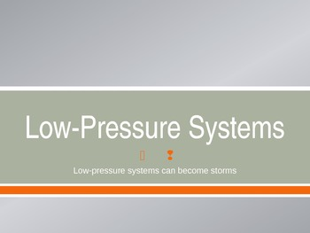 Low-pressure Weather Systems by Zie