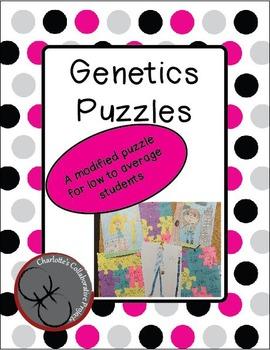 Low/Modified Genetics Puzzles (Punnett Squares)