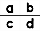 Lower Case Abc Flash Cards