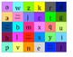 Lower Case Alphabet Bingo