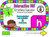 Lower Case H Set #1 - Interactive PDF - 3 Digital Activiti