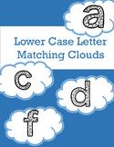 Lower Case Letter Matching File Folder for Autsim