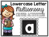 Lower Case Letter a Alphabet Center Activities