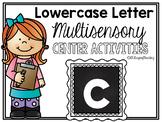 Lower Case Letter c Alphabet Center Activities