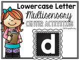 Lower Case Letter d Alphabet Center Activities