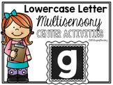 Lower Case Letter g Alphabet Center Activities