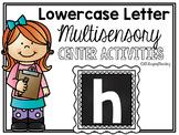 Lower Case Letter h Alphabet Center Activities