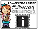Lower Case Letter i Alphabet Center Activities