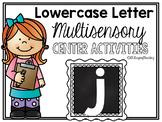 Lower Case Letter j Alphabet Center Activities