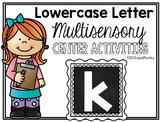 Lower Case Letter k Alphabet Center Activities
