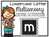 Lower Case Letter m Alphabet Center Activities
