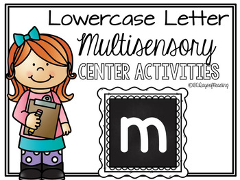 Lower Case Letter m Alphabet Center Activities