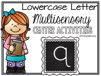 Lower Case Letter q  Alphabet Center Activities