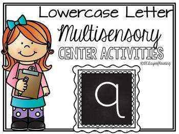 Lower Case Letter q  Alphabet Center Activities