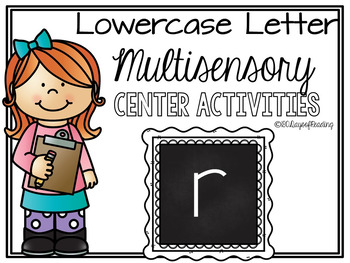 Lower Case Letter r  Alphabet Center Activities