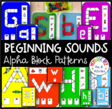 Upper And Lower Case Letters Pattern Blocks
