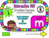 Lower Case M Set #1 - Interactive PDF - 3 Digital Activiti