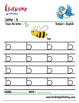 Lower Case letters Handwriting Practice