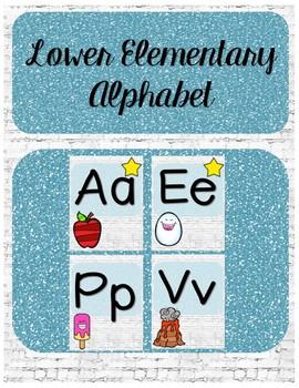 Lower Elementary Alphabet