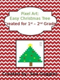 Lower Elementary Christmas Pixel Art