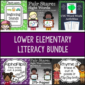 Literacy BUNDLE Lower Elementary