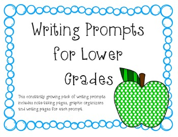 Lower Grade Writing Prompts Pack