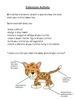 Lower Grades Nonfiction Book Report with Rubric