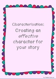 Lower Primary Characterisation Prompt - Build your charact