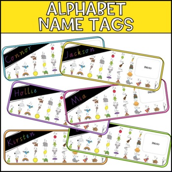 Lower Primary Name Tags