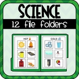 Lower Primary Science File Folders (Special Education)