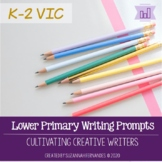 Lower Primary Writing Prompts *VIC FONT*  Distance Learning