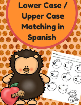 Lower / Upper Case Letters in Spanish (Letras minusculas y mayusculas)