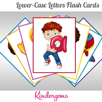 Lower-case Letters Flash Cards