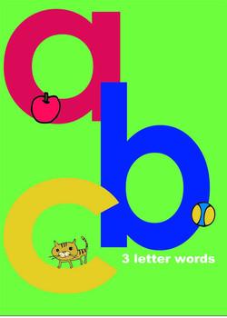 Lowercase 3 Letter Words (Workbook)