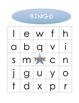 Lowercase Alphabet Bingo - 20 cards!