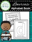 Lowercase Alphabet Book