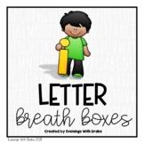 Lowercase Letter Breath Box Fluency Practice