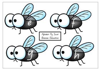 Lowercase Alphabet Fly Swat