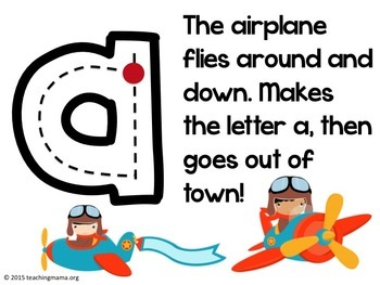 Lowercase Alphabet Formation Rhymes By Teaching Mama Blog