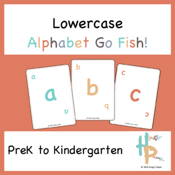 Lowercase Alphabet Go Fish!