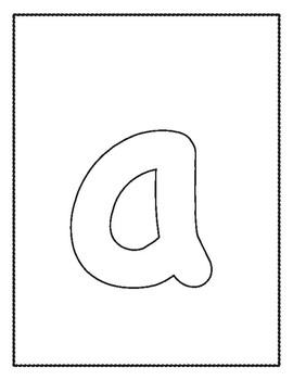 Alphabet Outlines