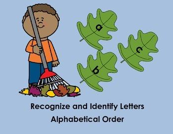 Lowercase Alphabet Puzzles