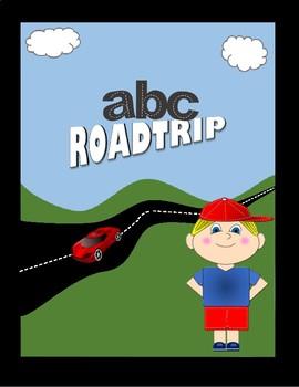 Lowercase Alphabet Road